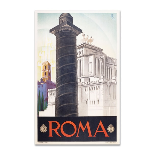 Unknown 'Roma' Canvas Art - Multi