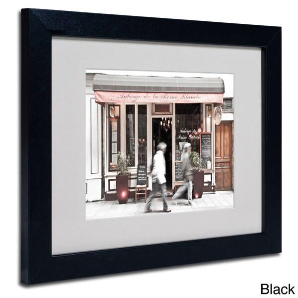Yale Gurney Paris Parisian Bakery Framed Matted Art