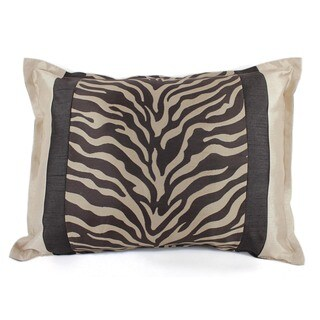 Sherry Kline True Safari Taupe Boudoir Pillow