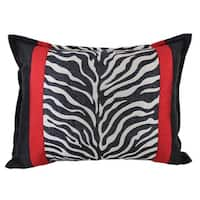 Sherry Kline True Safari Black Boudoir Pillow