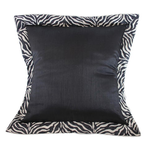 Sherry Kline True Safari Black Euro Sham (Set of 2)