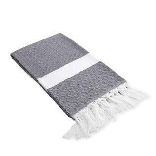 Authentic Pestemal Fouta Diamond Weave Turkish Cotton Bath/ Beach Towel