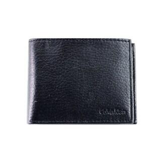Calvin Klein Men's Black Leather Wallet