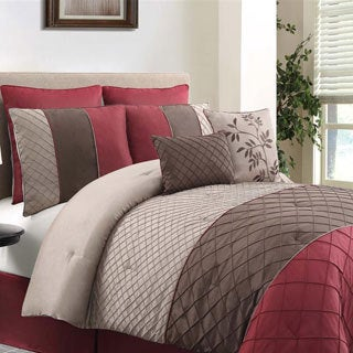 Vcny covington 8 piece comforter set free shipping today overstock