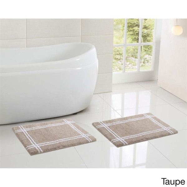 Memory Foam Bathroom Set. Vcny Clark Hotel Memory Foam Bath Mat Set
