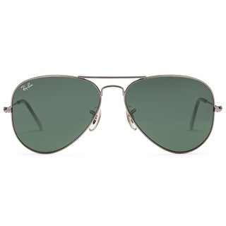 Ray-Ban RB3025 Unisex Metal Aviator Sunglasses 58mm