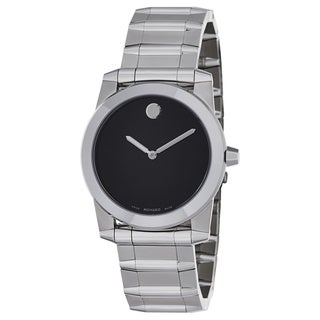 Movado Men's 'Vizio' Stainless Steel Swiss Quartz Watch