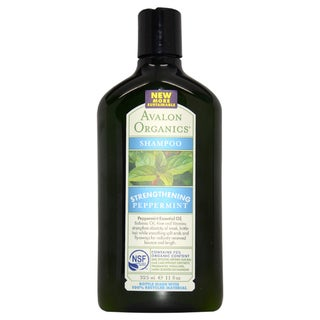 Avalon Organics Strengthening Peppermint 11-ounce Shampoo