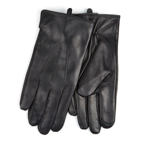 Men's Touchscreen I-Touch Genuine Lambskin Leather Texting Gloves