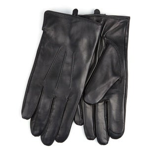 Men's Touchscreen I-Touch Lambskin Leather Texting Gloves