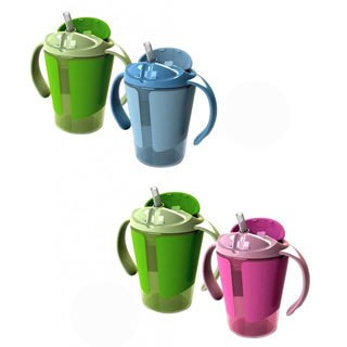Born Free Grow With Me 6 Training Straw Cup (2 Pack)