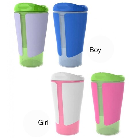 Born Free Grow With Me 10-ounce Big Kid Spoutless Cup (2 Pack)