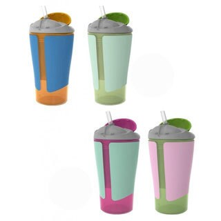 Born Free Grow With Me 10-ounce Straw Cup (2 Pack)