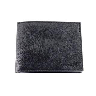 Calvin Klein Men's Black Leather Bifold Wallet