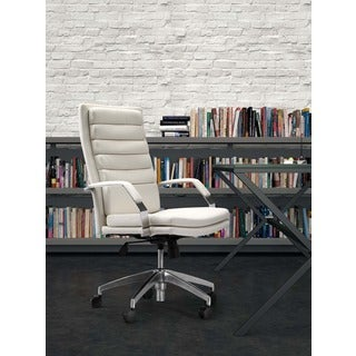 Director Comfort White Office Chair