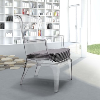 Transparent Vision Polycarbonate Contemporary Chair