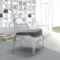 Transparent Vision Polycarbonate Contemporary Chair