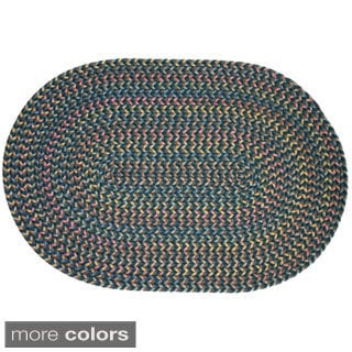 Rhody Rug Bouquet Indoor/ Outdoor Braided Rug (3' x 5')