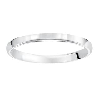 Cambridge Platinum 2 mm Plain Ladies Band