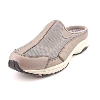 Women's Easy Spirit Traveltime Light Natural/White Suede (More options available)
