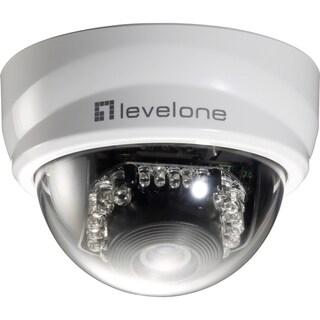 LevelOne H.264 2-Mega Pixel FCS-4101 10/100 Mbps P/T PoE Mini Dome Ne