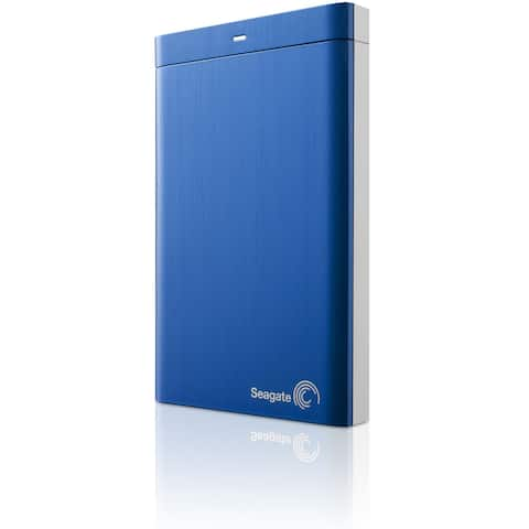 Seagate Backup Plus Portable STDR2000102 2 TB Hard Drive - External - Portable - Blue