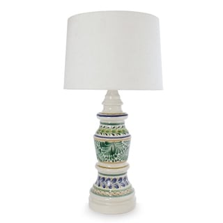 Gentil Handcrafted Ceramic U0027Chapultepec Forestu0027 Majolica Table Lamp ...