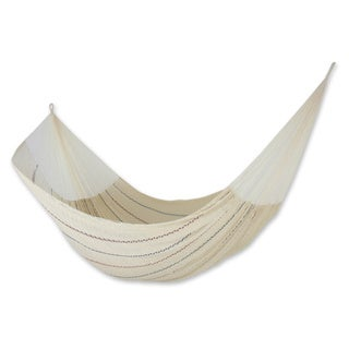 Handmade Cotton 'Sunset Riviera' Hammock (Triple) (Mexico)