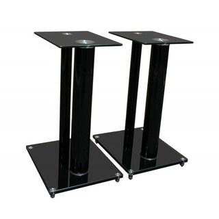 Mount-It! Premium Aluminum and Glass Speaker Stands