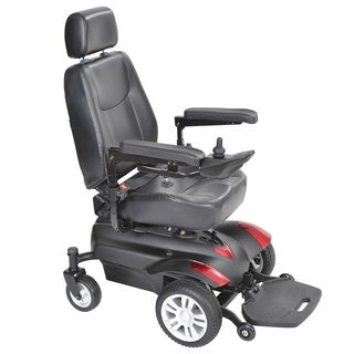 Drive Medical Titan Black Front Wheel Power Wheelchair