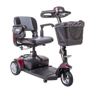 Drive Medical Spitfire EX Compact Travel, 21AH Battery, 3 Wheel, Power Mobility Scooter