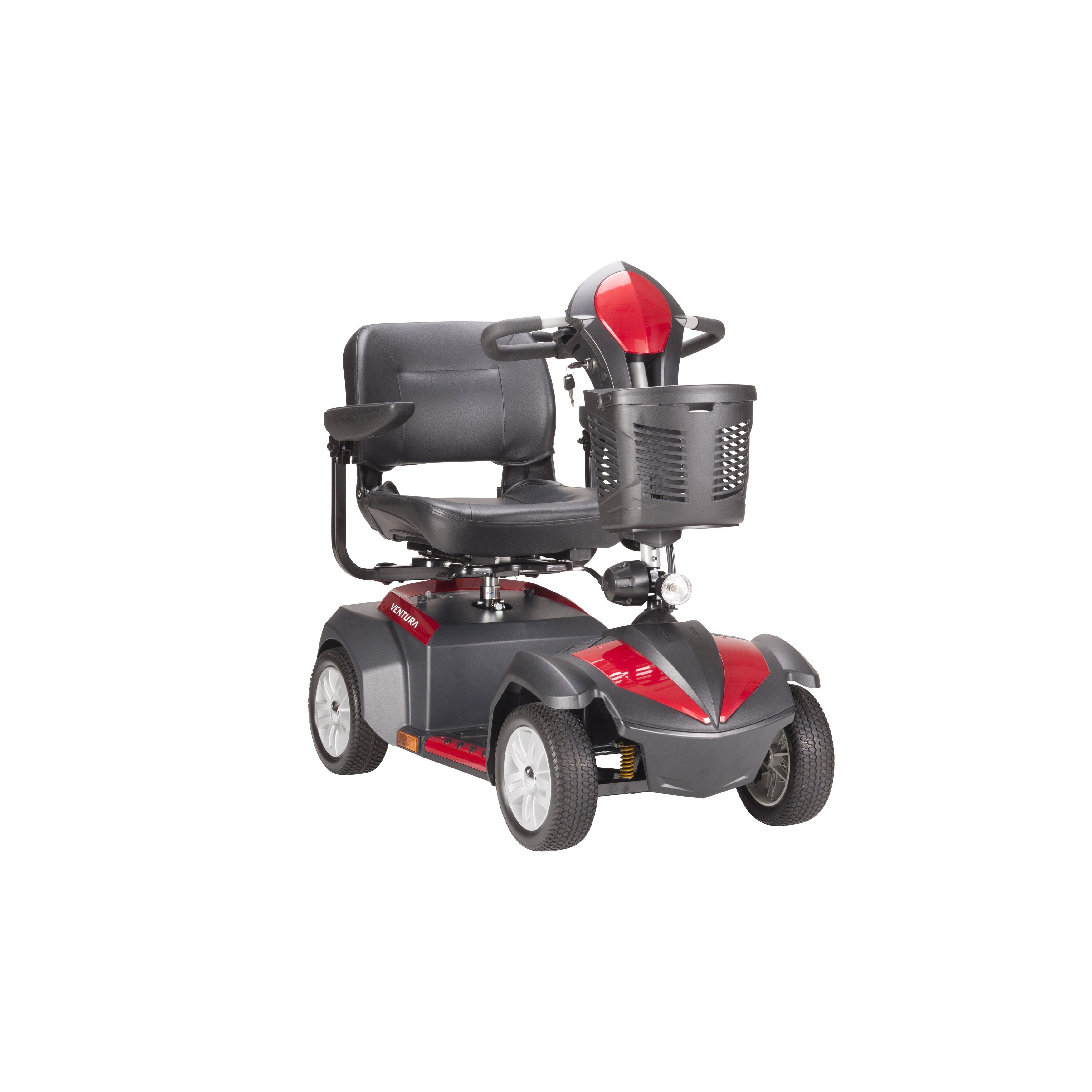 Drive Medical Ventura 4-wheel Power Mobility Scooter (18-...
