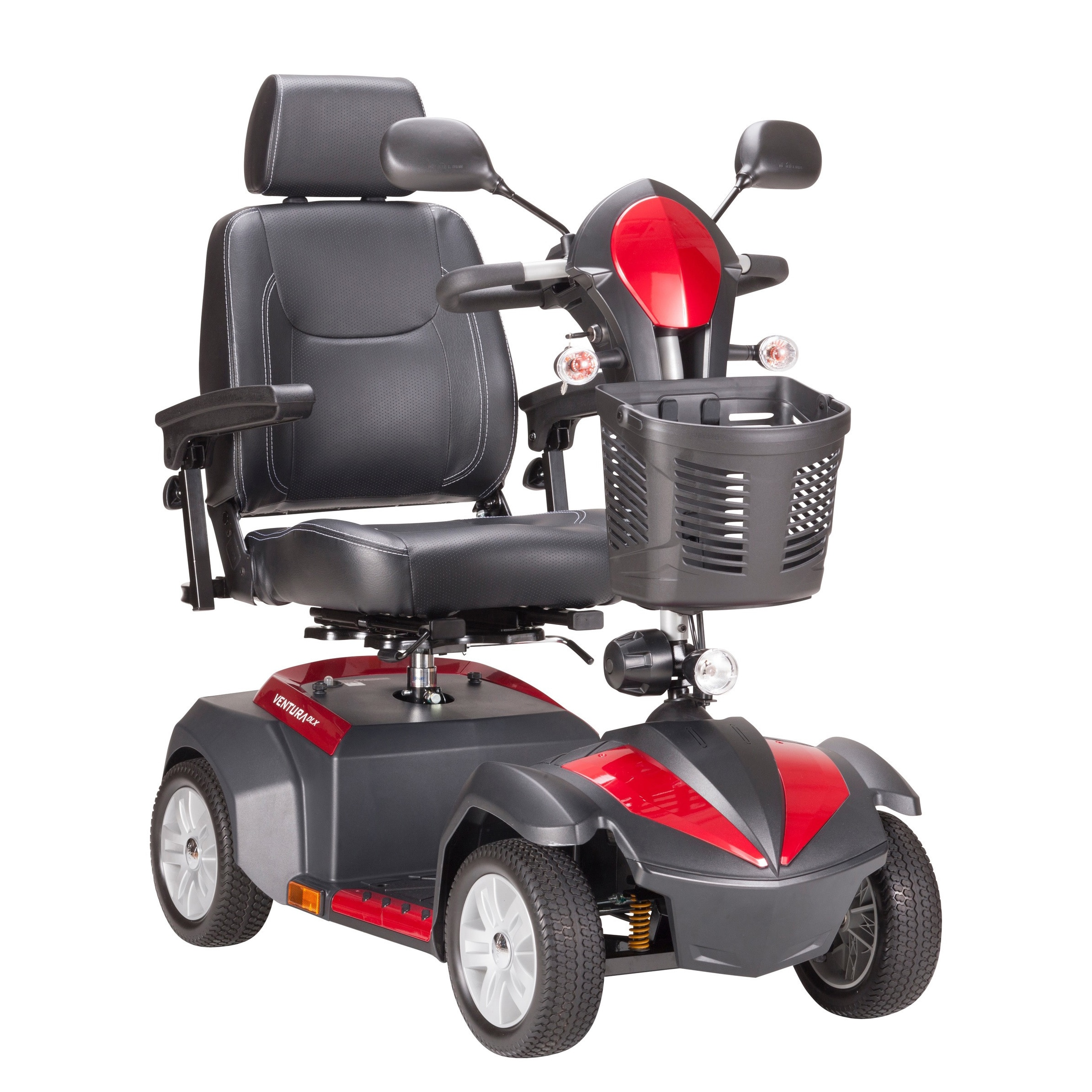 Drive Medical Ventura 4-wheel Power Mobility Scooter (20-...