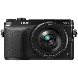 Panasonic LUMIX DMC-GX7 DSLM Camera and LUMIX G 20mm F1.7 II ASPH Lens