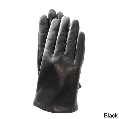 Women's Premium Italian Genuine Lambskin Leather Gloves