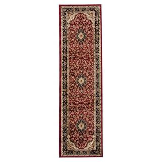 "Well Woven Medallion Traditional Red Runner Rug - 2'3"" x 7'3"""
