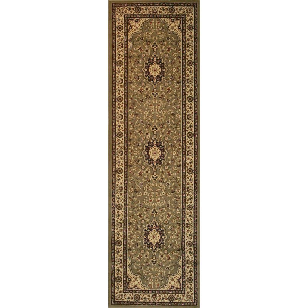 Well Woven Medallion Traditional Persian Floral Border Or...