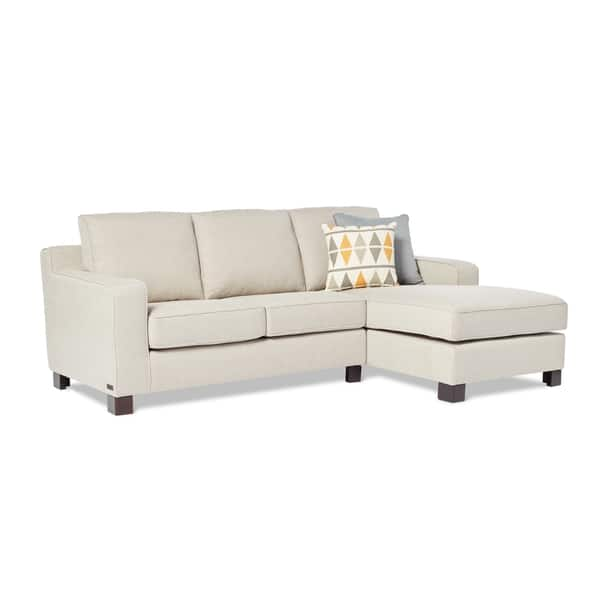 Fine Shop Abbyson Sectional Sofa With Chaise In Light Grey On Inzonedesignstudio Interior Chair Design Inzonedesignstudiocom