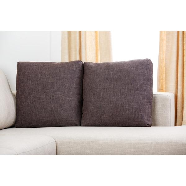 Abbyson U0027Veronau0027 Fabric Sectional Sofa   Free Shipping Today    Overstock.com   15914593