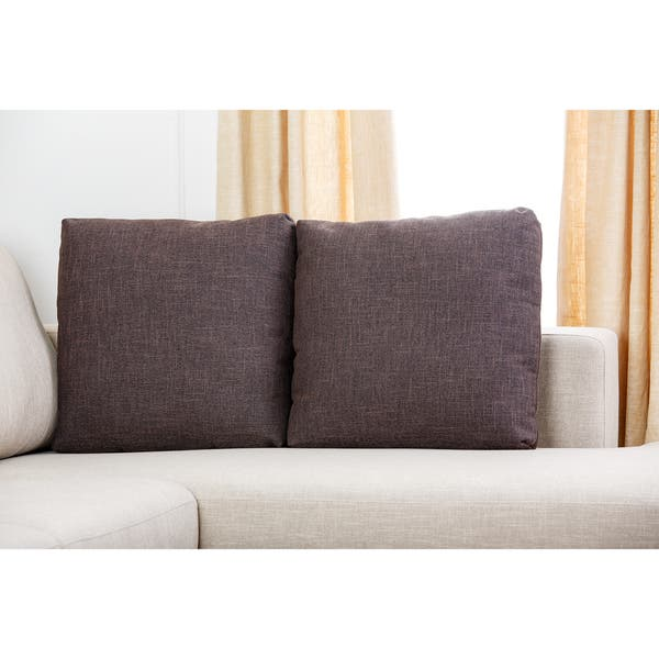 Super Shop Abbyson Verona Fabric Sectional Sofa On Sale Free Caraccident5 Cool Chair Designs And Ideas Caraccident5Info