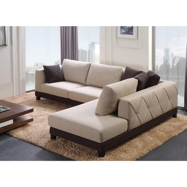 Phenomenal Shop Abbyson Verona Fabric Sectional Sofa On Sale Free Caraccident5 Cool Chair Designs And Ideas Caraccident5Info