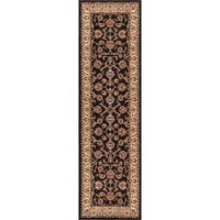 "Well Woven Ariana Palace Black Runner Rug - 2'3"" x 7'3"""