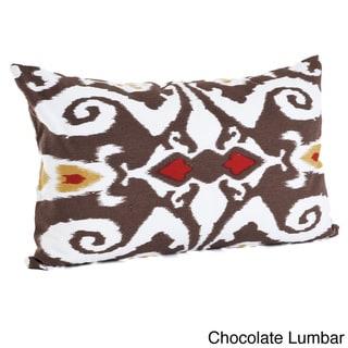 Ikat Designs Cotton Decorative Throw Pillow