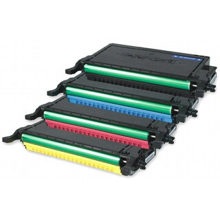Dell 2145/ 2145CN Remanufactured Compatible Toner Cartridge Set (Pack of 4)