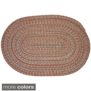 Duval Wool Blend Braided Rug by Rhody Rug (3' x 5')