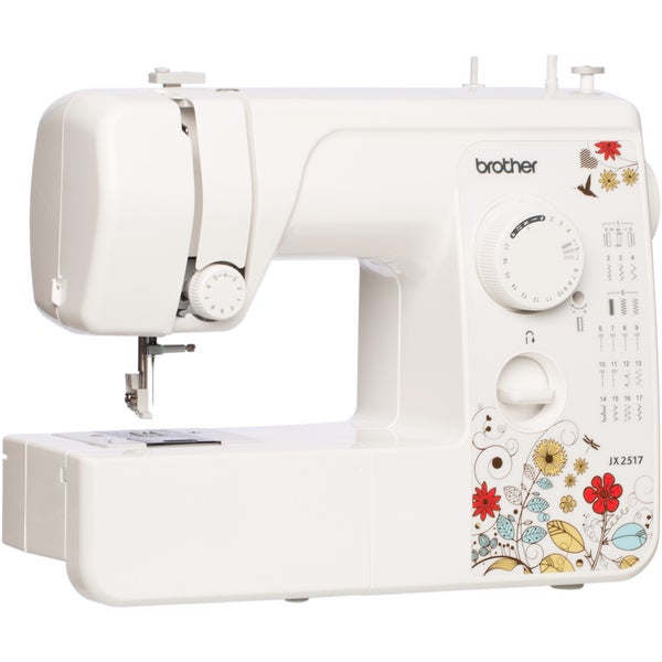 Brother JX2517 17-Stitch Sewing Machine with 38 Stitch Function Factory Refurbished