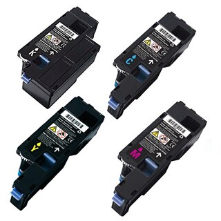 Dell C1760 Black Cyan Yellow Magenta Set Compatible Toner Cartridges (Pack of 4)