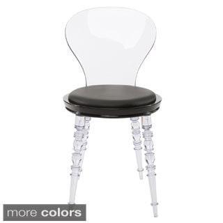 American Atelier Living 'Wynona' Modern Transparent Legged Dining Chair