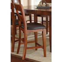 Morgan 24-inch Counter Height Chair by Greyson Living (Set of 2) - 43 inches high x 19 inches wide x 22 inches deep