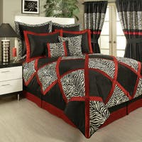 PCHF True Safari Black 4-piece Bedding Collection